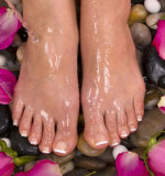 chocolate pepermint foot oil